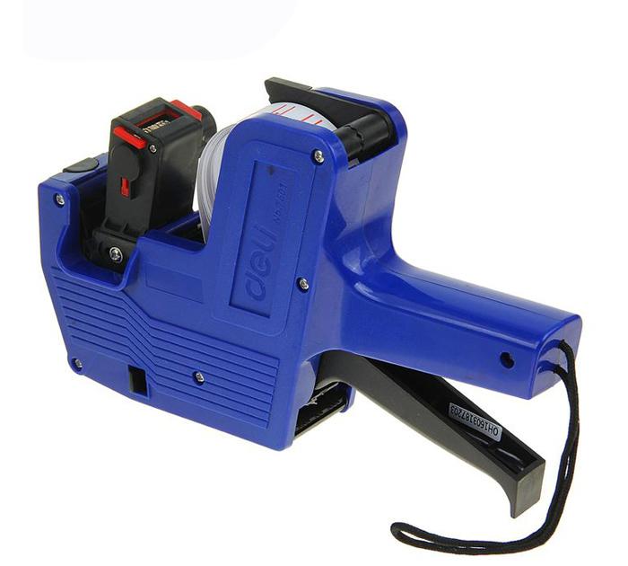Этикет-пистолет 8 знаков Deli арт. 7501