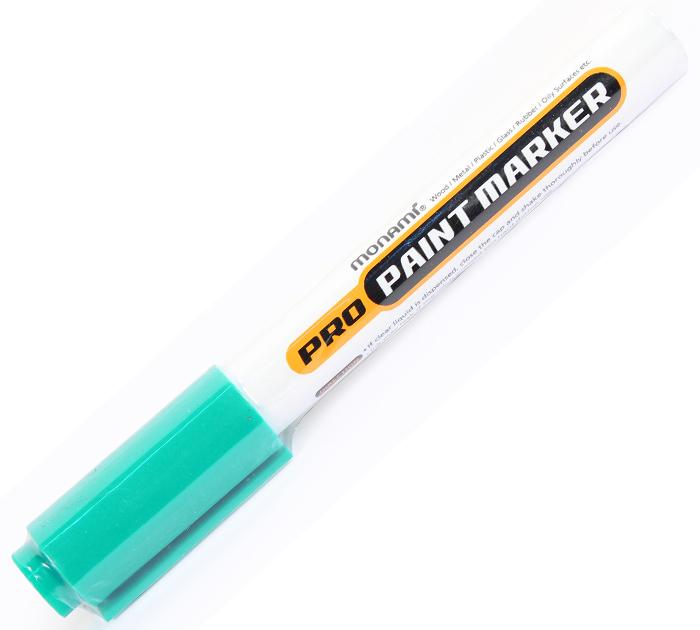 Маркер лаковый MonAmi зеленый PRO PAINT 2,0 мм